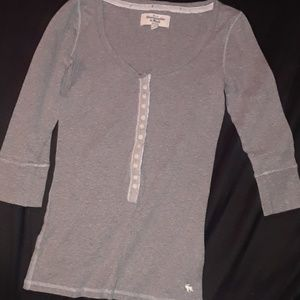 Abercrombie & Fitch 3/4 sleeve